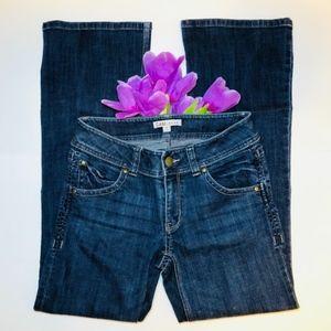 20 MINUTE SALE! Boot Leg Dark Wash Boot Cut Jeans